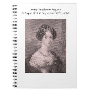 Carnet Amalie Friederike Augusta c1825