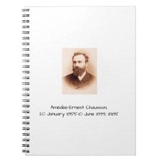 Carnet Amedee-Ernest Chausson