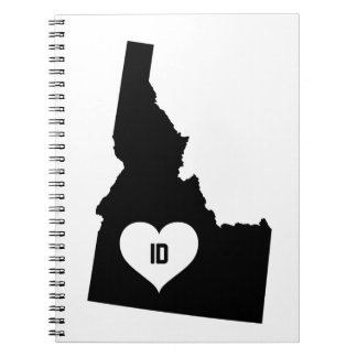 Carnet Amour de l'Idaho