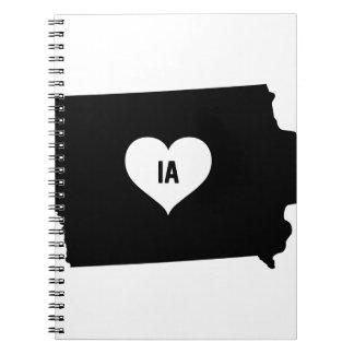 Carnet Amour de l'Iowa