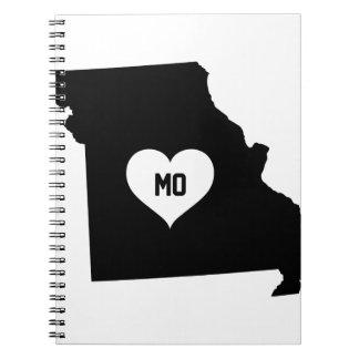 Carnet Amour du Missouri