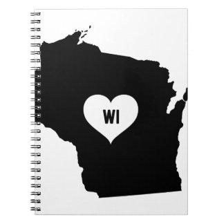 Carnet Amour du Wisconsin