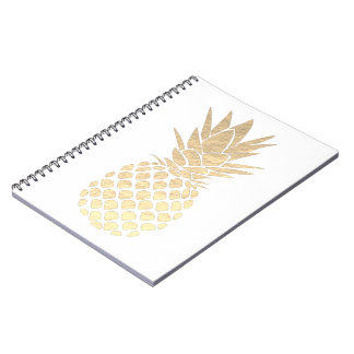 Carnet ananas d'or