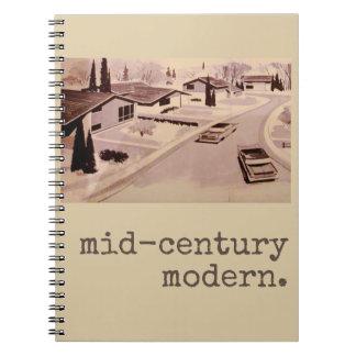 Carnet Architecture moderne de la moitié du siècle
