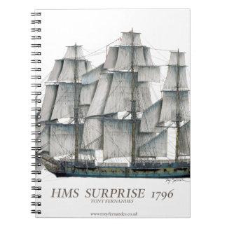 Carnet Art 1796 de surprise de voie HMP