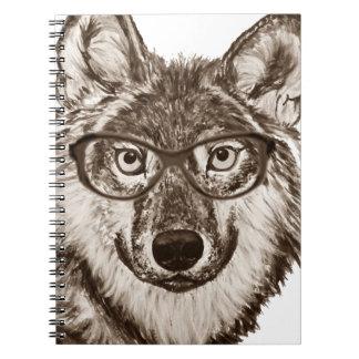 Carnet Art de ballot de loup