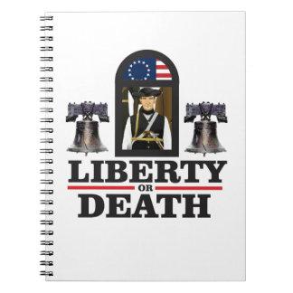 Carnet art de patriote de cloche