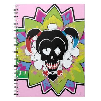 Carnet Art de tatouage de crâne du peloton   Harley Quinn