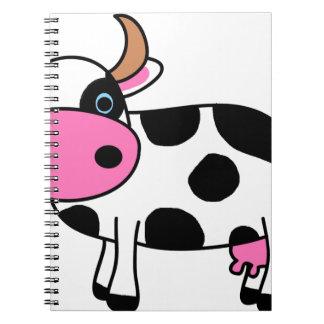 Carnet art de vache