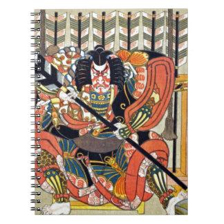 Carnet Art japonais d'ukiyoe (utagawa de kunisada)