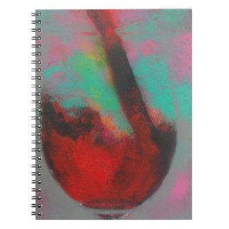 Carnet Art spray abstrait pop couleur