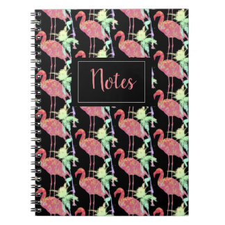 Carnet avec photo Flamant Rose
