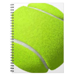 Carnet Balle de tennis