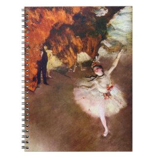 Carnet Ballerine de Prima, Rosita Mauri par Edgar Degas