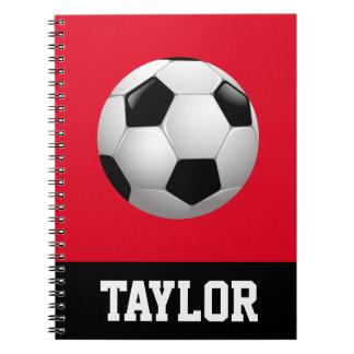 Carnet Ballon de football personnalisé