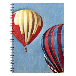 Carnet Ballons colorés