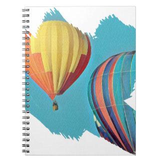Carnet Ballons colorés 2