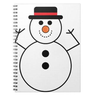 Carnet Bande dessinée de bonhomme de neige