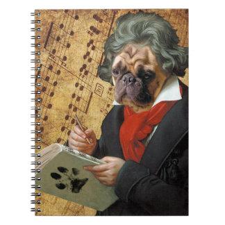 Carnet Barkthoven - le carlin de Beethoven