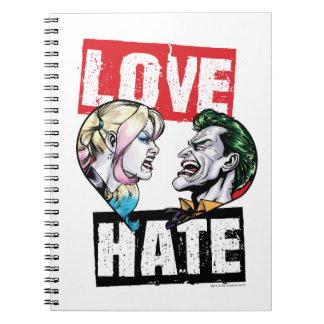 Carnet Batman | Harley Quinn et amour de joker/haine