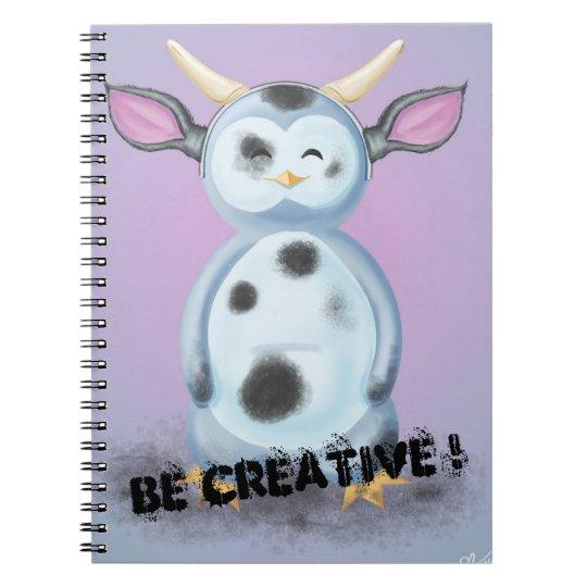 Carnet Be Creative! Puik-Puik se déguise en vache cracra