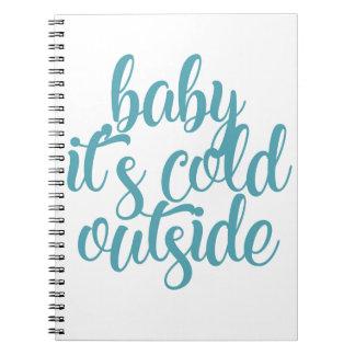 Carnet Bébé c'est extérieur froid
