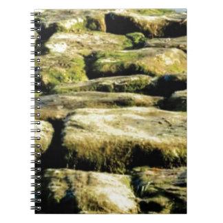 Carnet blocs de jaune de roche