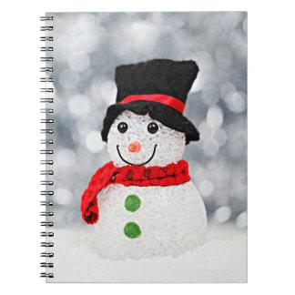 Carnet Bonhomme de neige du pays des merveilles d'hiver