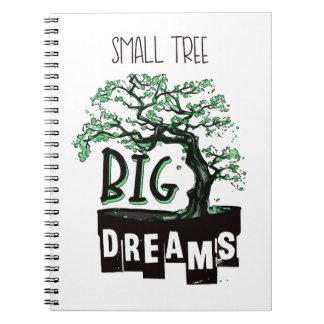 Carnet Bonsaïs - grands rêves de petit arbre