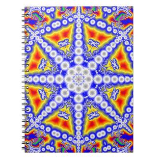 Carnet Bouddha bleu