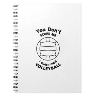 Carnet Cadeau drôle d'entraîneur de volleyball vous ne