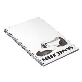 Carnet Cadeau personnalisé de danseur de chaussure de