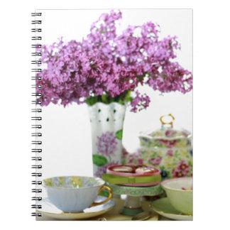 Carnet Calendrier 2018 de temps de thé