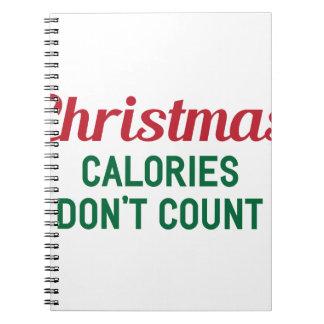 Carnet Calories de Noël