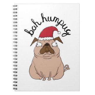 Carnet Carlin de Père Noël de Noël de Bah Humpug