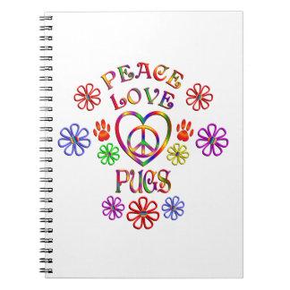 Carnet Carlins d'amour de paix