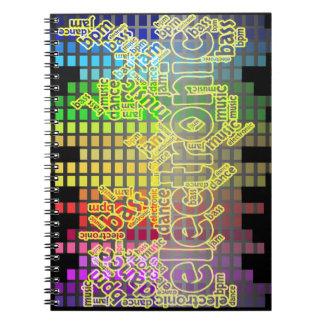 Carnet Carnet-Basse électronique de musique de danse vers