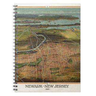 Carnet Carte de Newark 1916