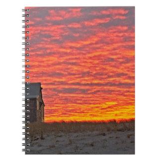 Carnet Chambre au coucher du soleil - 2