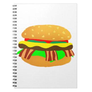 Carnet Cheeseburger de lard