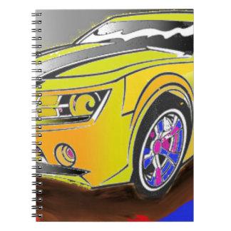 Carnet Chevy Camero