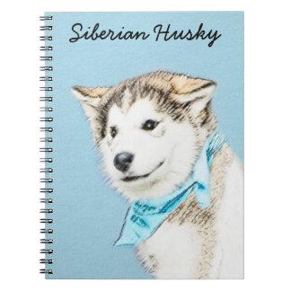 Carnet Chiot de chien de traîneau sibérien