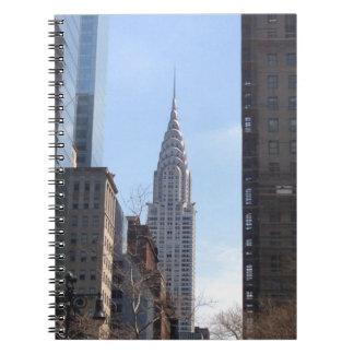 Carnet Chrysler établissant le Midtown de gratte-ciel de