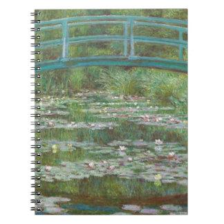 Carnet Claude Monet | la passerelle japonaise, 1899