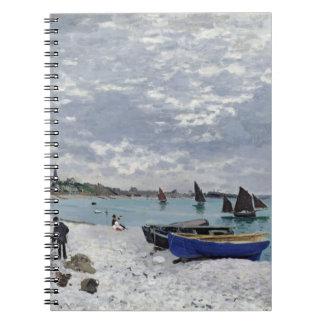 Carnet Claude Monet | la plage chez Sainte-Adresse