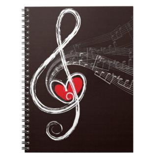 Carnet Coeurs de musique