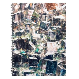 Carnet Collection chaotique de cubes