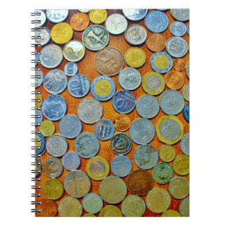Carnet Collection de pièce de monnaie du monde