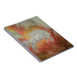 Carnet Collection ''Horses and Fire''