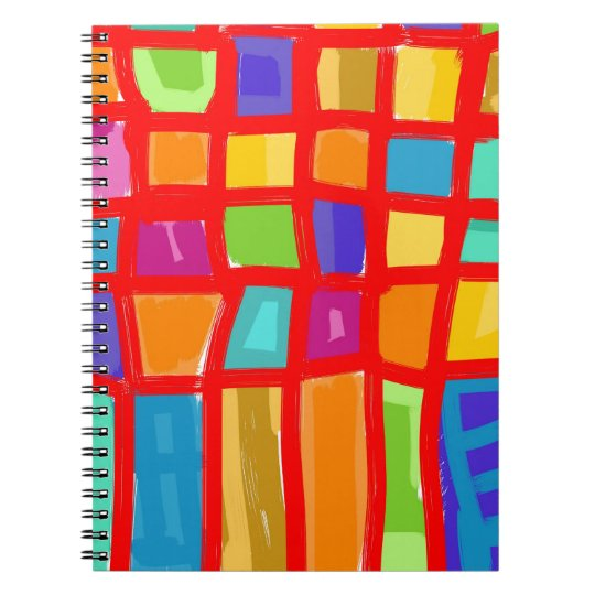 Carnet Colorful Grid Collection